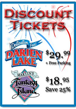 Darien Lake Tickets