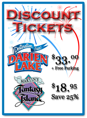 Discount Darien Lake Tickets