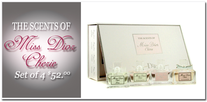 The Scents Of Miss Dior Cherie