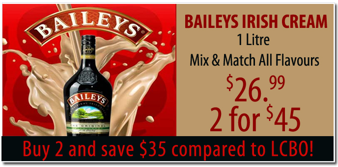 Baileys Irish Cream Discount Price