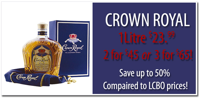 Crown Royal Wiskey Discount Price